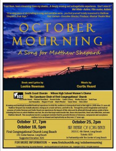 Poster of October Mourning